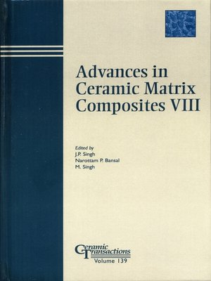 cover image of Advances in Ceramic Matrix Composites VIII